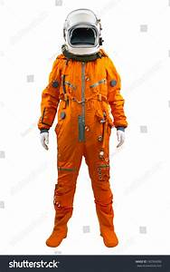 Astronaut Isolated On A White Background. Cosmonaut ...