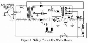 Safety Circuit For Water Heater  U2013 Electronics Project