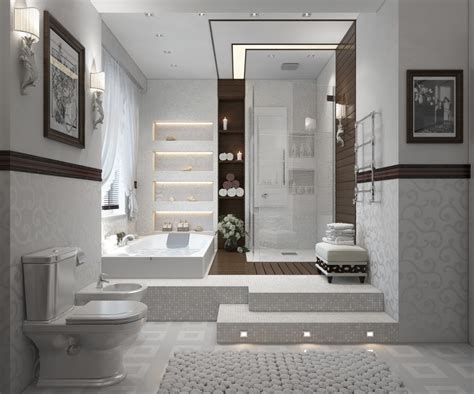 Modern Bathrooms With Spalike Appeal  Showme Design