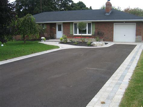 driveway borders pro lawn landscaping orono ontario driveway borders