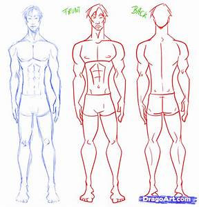 How to Draw Men, Cartoon Men, Step by Step, Anime Males ...