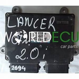 Ecu Engine Controller Mitsubishi Lancer 2 0 1860a843 E6t71572 H1