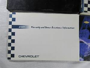 2004 Chevrolet Trailblazer    Ext Owners Manual Book