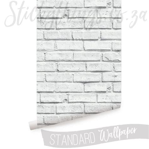 3d Brick Wallpaper South Africa by White Brick Wallpaper White Brick Wall Mural