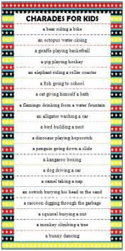 Childrens Halloween Books Uk by Charades On Pinterest Drama Games Drama Activities And