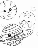 Coloring Space Pages Printable Planet Sheets Preschool Activity Colouring Outer Printables Ship Kindergarten Simpleeverydaymom Paper Together Plutos Rocket Kid Print sketch template