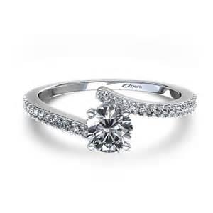 palladium engagement rings twirl engagement ring in palladium