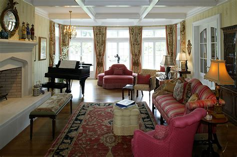 English Country Living Room : English Country House