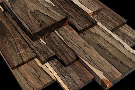 white ebony  ziricote wood exclusive  refined