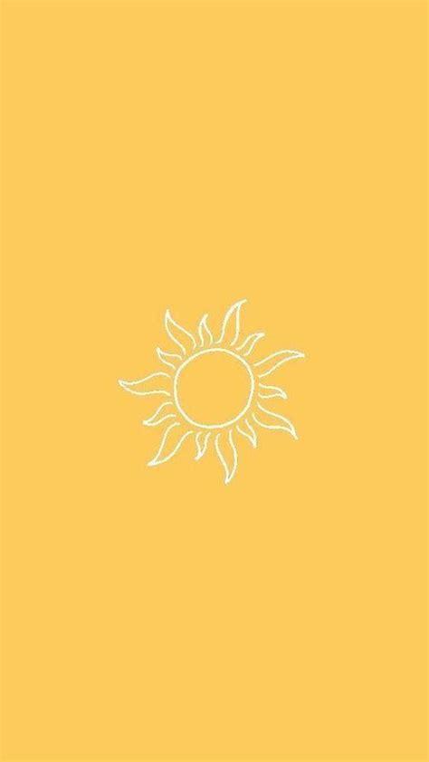 yellow aesthetic wallpaper iphone flower in 2020