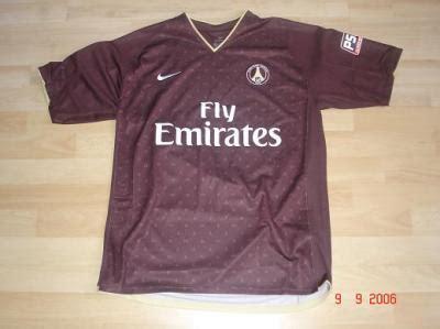 maillot psg exterieur 2006 maillot ext 233 rieur 2006 2007 du psg psg forever