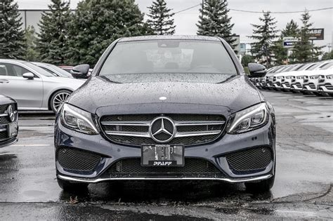 Tax, title and tags not included in vehicle prices shown and must be paid by the purchaser. Certified Pre-Owned 2017 Mercedes-Benz C300 4MATIC Sedan 4-Door Sedan in Kitchener #K4081 ...