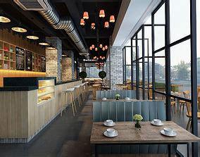 restaurant  models cgtrader