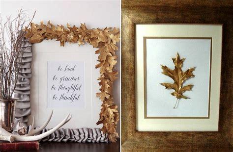 cadre photo 224 faire soi m 234 me en quelques id 233 es de bricolage d automne