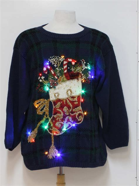 light up ugly sweater light up multi colored flashing super bright lights ugly