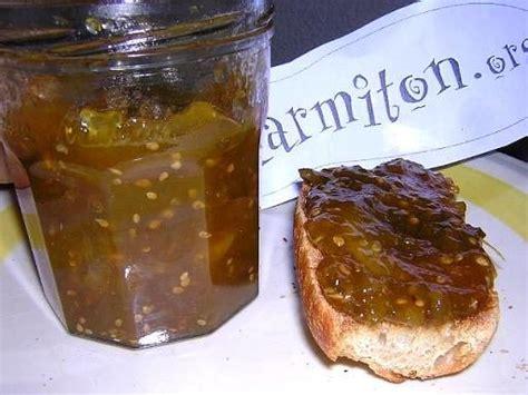 cuisiner des tomates vertes confiture de tomates vertes au citron recette photos