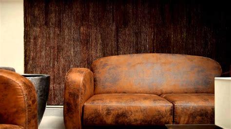 canapé imitation cuir vieilli ensemble fauteuil et canapé imitation cuir vieilli