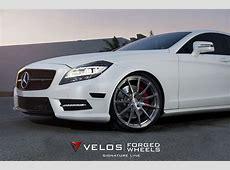 Mercedes CLS 550 on Velos S2 Wheels VELOS Designwerks