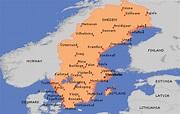 Kalmar Sweden Map - ToursMaps.com