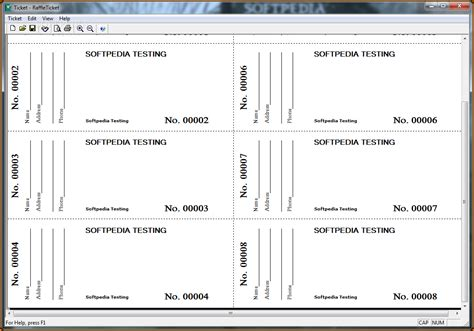 Raffle Tickets Template 6 Raffle Tickets Template Authorizationletters Org