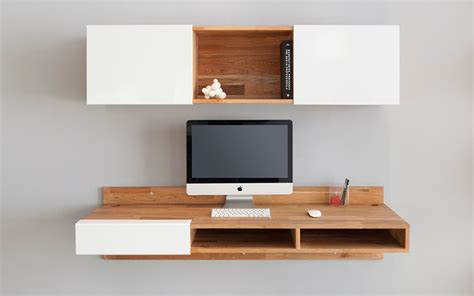 wall hanging shelves best wall mounted desk designs for small homes