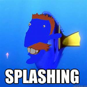 Splashing - Nigel Thornberry - quickmeme