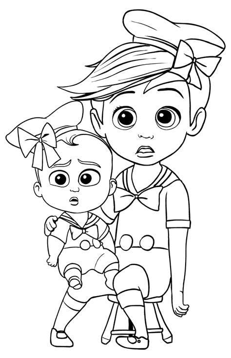 boss baby coloring pages  coloring pages  kids