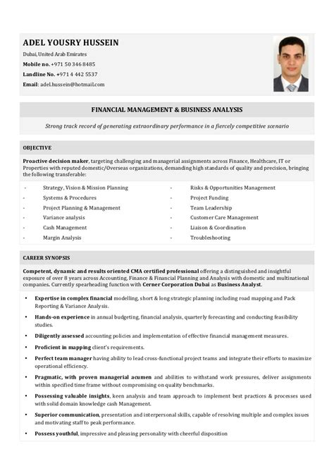 Upload Resume For In Dubai by Resume Adel Hussein