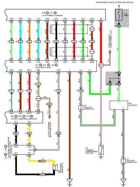 Stereo Wiring Diagram Needed Please Lexus