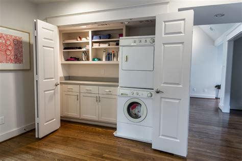 what are the demensions of the closet depth for washer dryer