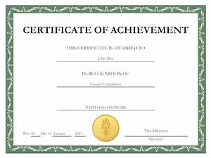 Certificate tips for creating a certificate for Make your own deploma