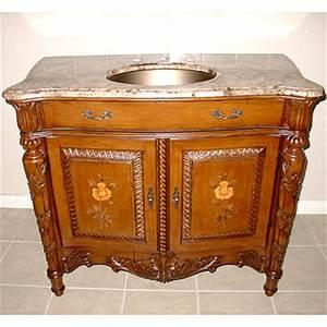 41 inch tuscan vanity concealed hinges vanity With tuscan bathroom vanity cabinets