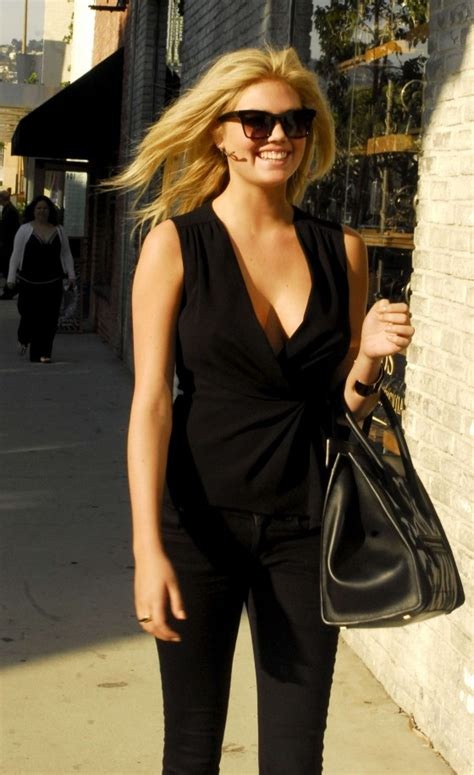 kate upton hot cleavage candids  beverly hills