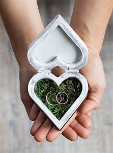 wedding ring box ring bearer box custom wedding box moss With custom wedding ring box