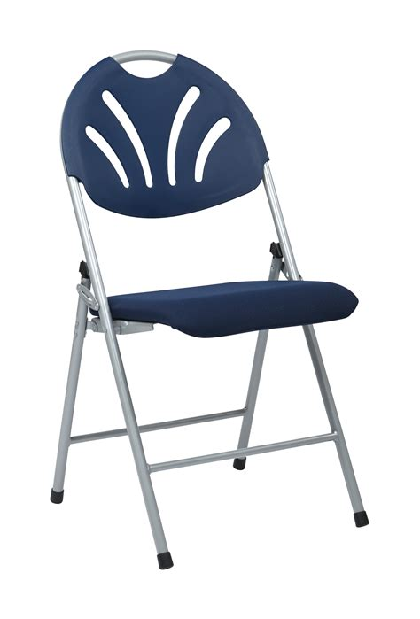 office fc8100ns 7 folding chair with fabric seat