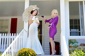 dolly parton plays fairy godmother rock n roll bride With dolly parton wedding dress