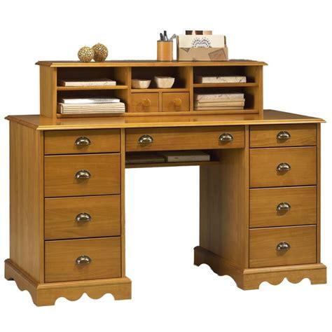 bureau notaire bureau du notaire pin massif miel de style anglais beaux