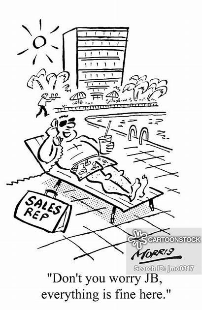Travelling Cartoon Salesman Cartoons Funny Comics Sales