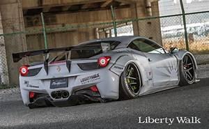 Ferrari Liberty Walk : liberty walk rear wing version 1 dry carbon ferrari 458 italia 10 15 ~ Medecine-chirurgie-esthetiques.com Avis de Voitures