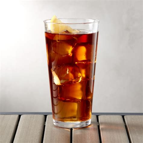 pop clear acrylic  oz drink glass crate  barrel