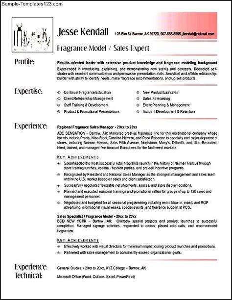 sales associate resume sle templates