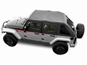 Jeep Wrangler Frameless Trail Soft Top With Tinted Windows