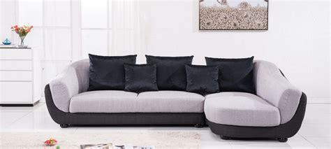 canapé d angle en canapé d 39 angle en tissu gris a petit prix