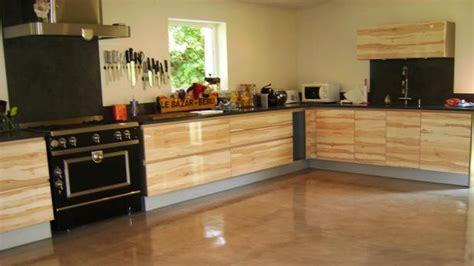 beton ciré pour plan de travail cuisine revêtements en enduit béton ciré décoratif