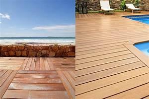 pour ma terrasse en bois je choisis des lames ou des With faire une terrasse en caillebotis