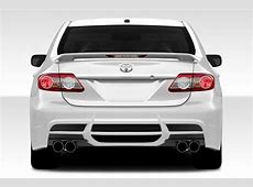 Modifications recommended for Corolla 2013 Corolla