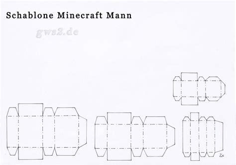 Minecraft basteln austrucken / minecraft bastelbogen zum ausdrucken : GWS2.de: Das Portal für Bastelanleitungen und Papier   Seite 174
