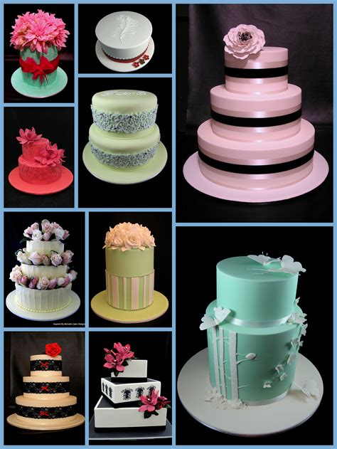 cake designs wedding cakes inspired by michelle