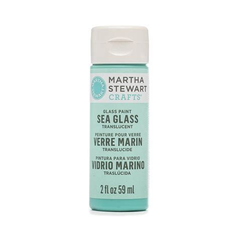 martha stewart 174 sea glass paint beach glass 2 oz