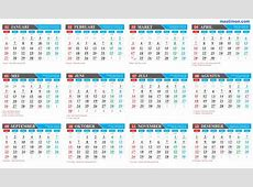 Kalender 2017 Hijriyah calendrier